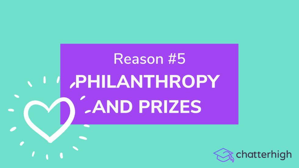 philanthropy and prizes